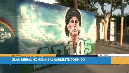 Mural de Diego en San Juan