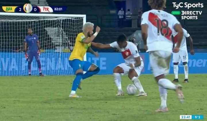 Neymar está endiablado
