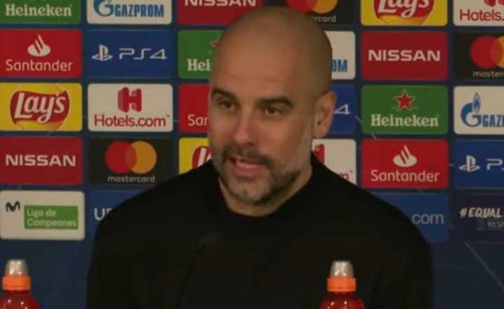 La conferencia de prensa de Guardiola