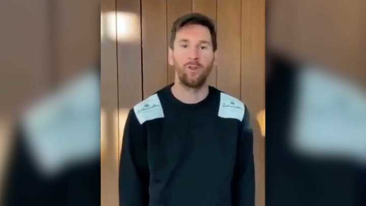 El mensaje de Messi al Kun por su club de esports