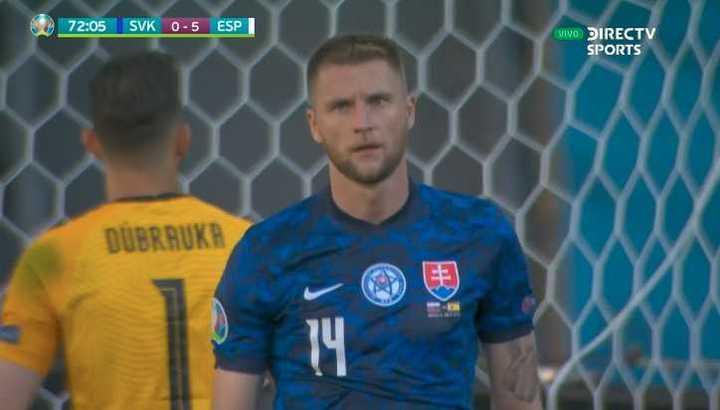 España le gana 5 a 0 a Eslovaquia