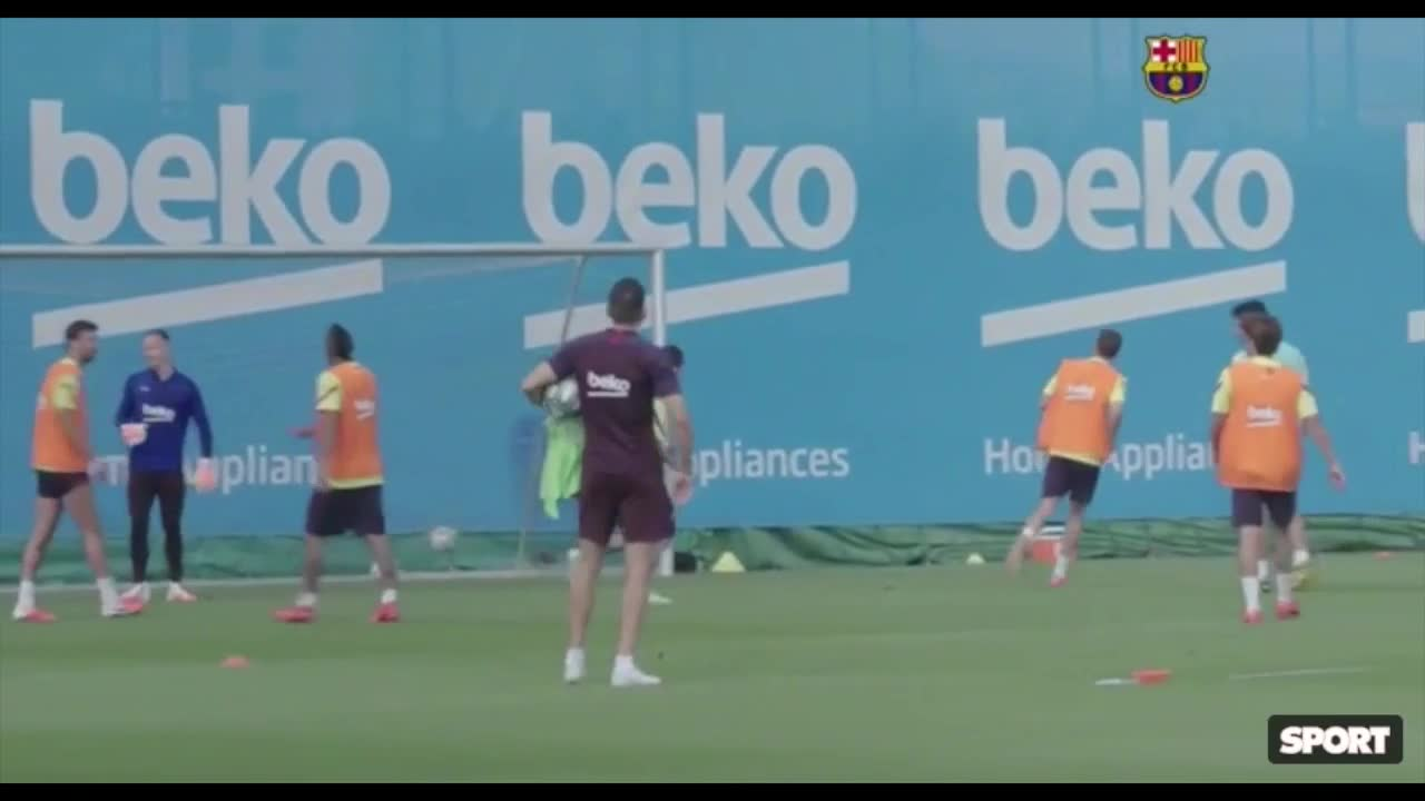 El gol de Messi en la práctica