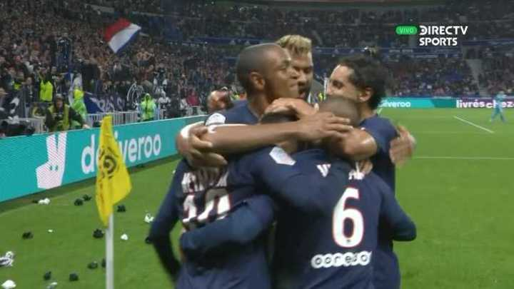 El gol de Neymar al Lyon