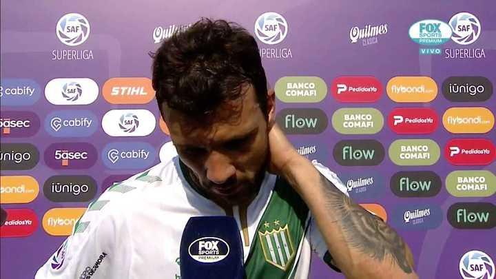 """Bertolo: """"Soy un poco responsable de la derrota"""""""