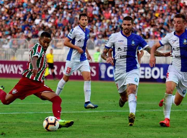 Fluminense le ganó 2-1 a Antofagasta en Chile