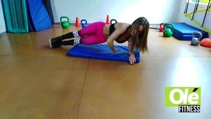 Soledad Suárez te presenta una rutina súper exigente y rendidora de abdominales