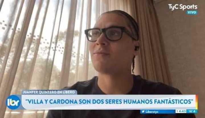 Juanfer Quintero bancó a los colombianos de Boca