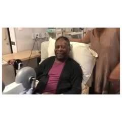 O Rei en el hospital