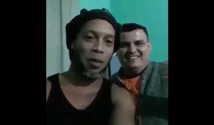 El video de Ronaldinho desde la cárcel