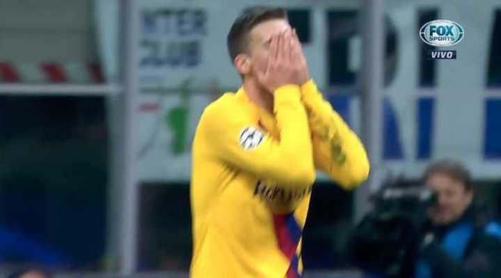 Se lo perdió el Barcelona