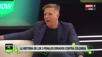 Martín Palermo sobre los tres penales que erró ante Colombia.