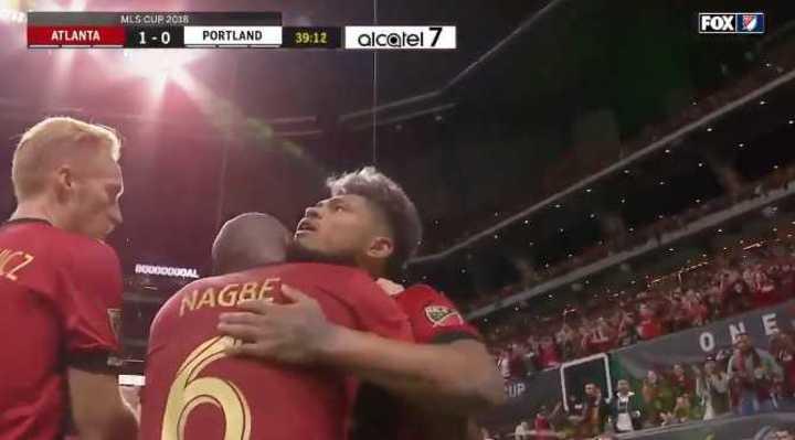 El gol de Josef Martínez para el Atlanta United
