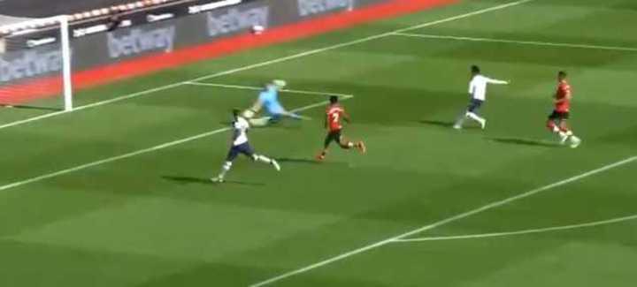 Tercera asistencia de Kane, tercer gol de Son: 3-1 del Tottenham al Southampton