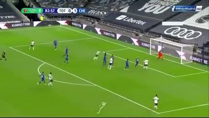 Lamela igualó ante Chelsea