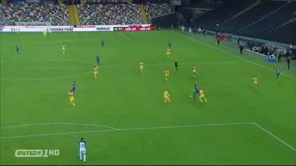 Pusetto clavó el 3-2 agónico de Udinese