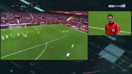 Sevilla derrotó 1-0 al Leganés