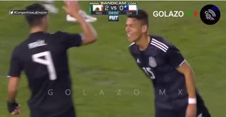 El resumen de México 3 - Chile 1
