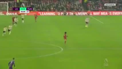 Mohamed Salah definió el Clásico ante Manchester United