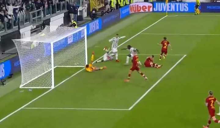 El gol de la Juventus