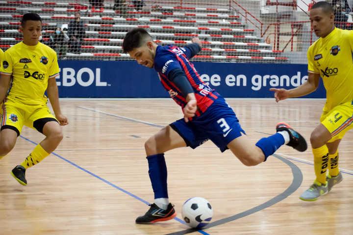 San Lorenzo debutó con una goleada en la Libertadores de futsal