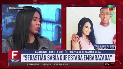 """Daniela Cortés: """"En el embarazo me pateó el estómago"""""""