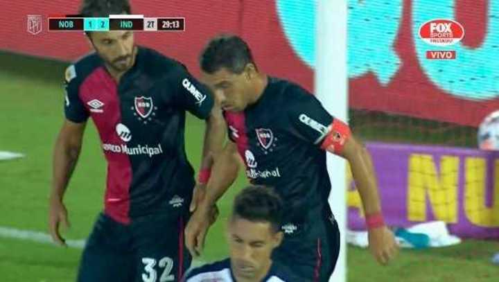 Maxi Rodríguez descontó para la Lepra