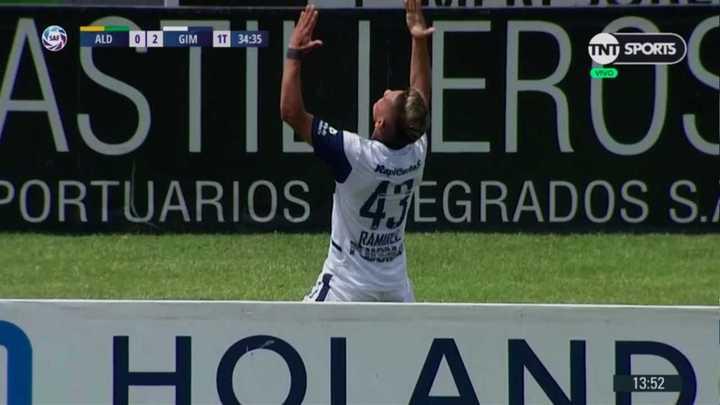 Ramírez aprovechó una contra y marcó el segundo de Gimnasia