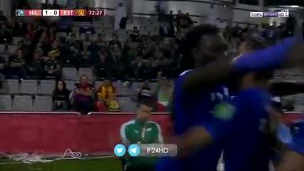 Gomis gritó el gol en la cara de los jugadores de Flamengo