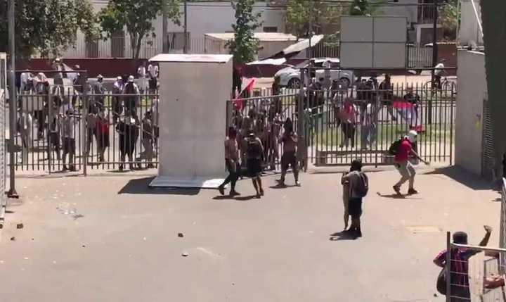 El ataque de la barra en Chile
