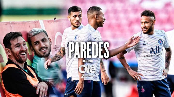 Paredes y qué admira de Messi, Ney y Mbappé