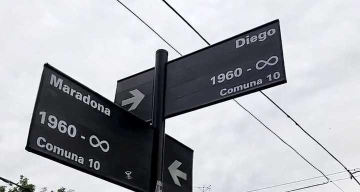 La esquina de Diego y Maradona