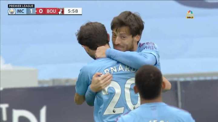 La victoria del City por 2 a 1