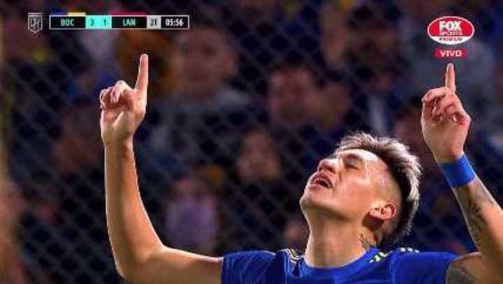 Vázquez marcó el 3 a 1