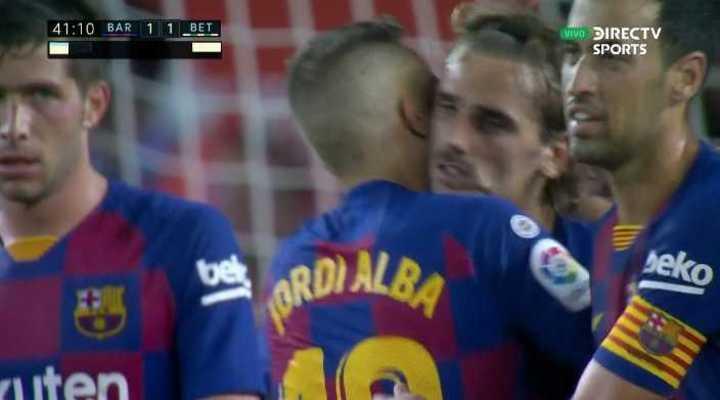 Griezmann empató para Barcelona