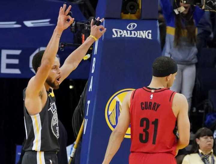 El apasionante final del 2do juego (final del Oeste) entre Warriors y Trail Blazers