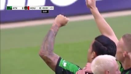 Driussi convirtió en la victoria del Austin FC sobre el Houston Dynamo