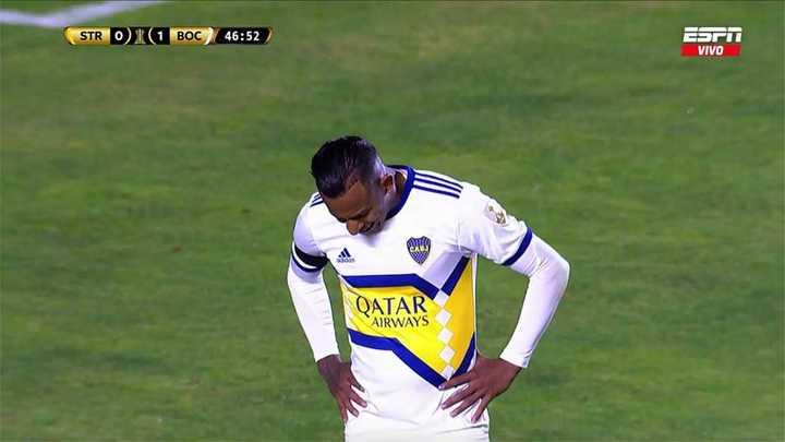 Villa se perdió el segundo de Boca