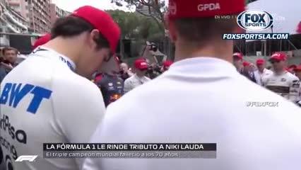 El homenaje a Niki Lauda de los pilotos de la F1