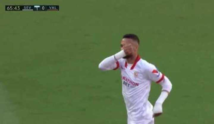 Gol de En-Nesyri para el Sevilla