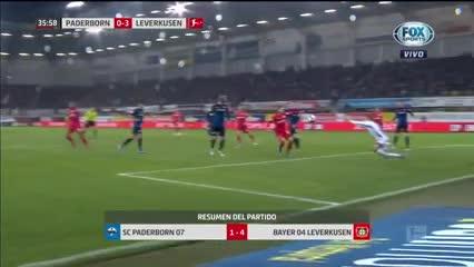 El resumen de la victoria de Leverkusen ante Paderborn