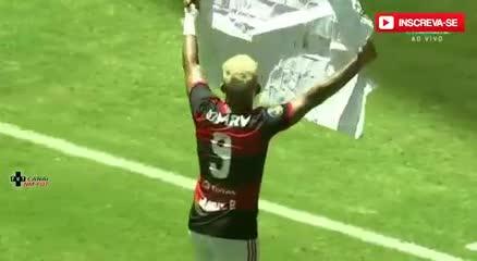 Los goles del Flamengo, otra vez campeón