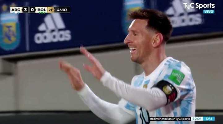Triplete de Leo Messi