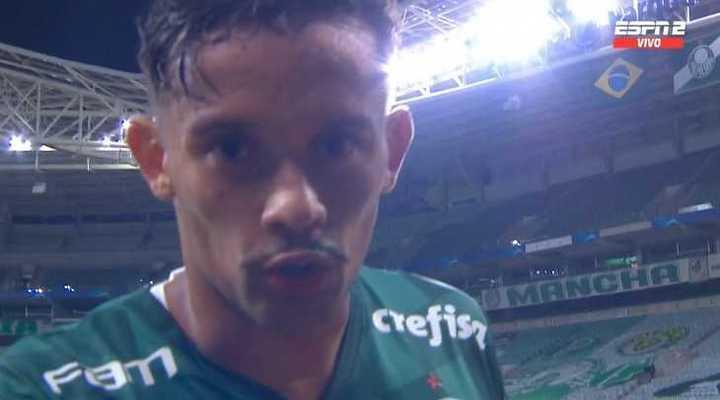 Scarpa lo empató para Palmeiras
