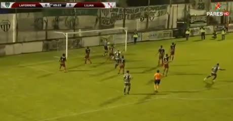 El 1-0 de Laferrere a Luján