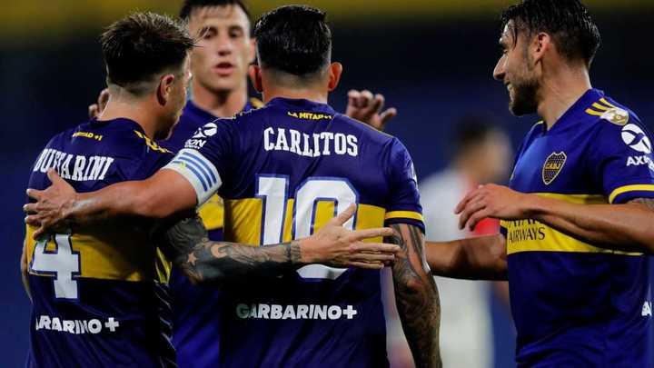 Lo mejor de Tevez vs Caracas