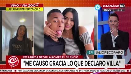 Las acusaciones del colombiano