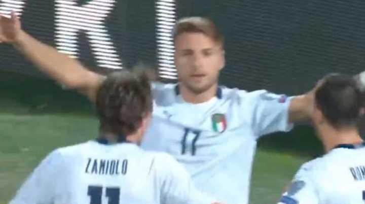 Los goles de Italia 9 - Armenia 1