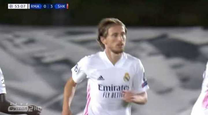Modric descontó para el Real Madrid