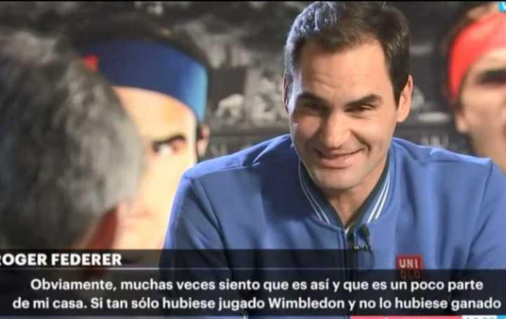 Federer se comparó con Riquelme