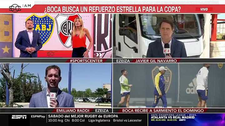 Casi atropellan a un periodista en vivo
